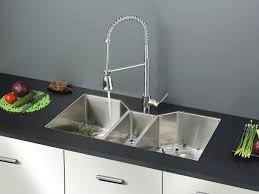 Chrome Kitchen Sink Ruvati Rvc2406 Stainless Enchanting Kitchen Sink And Faucet Sets