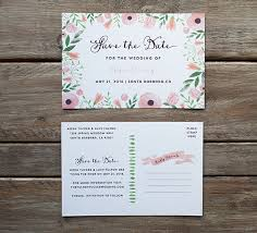 Save The Date Samples Diy Save The Date Postcard Free Printable Mountain Modern Life
