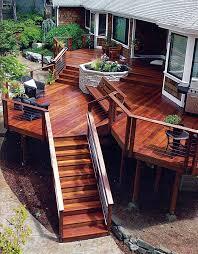 Backyard Decking Ideas by Best 20 Stone Deck Ideas On Pinterest Back Deck Ideas Backyard