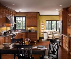 Cherry Cabinets In Kitchen Traditional Cherry Kitchen Cabinets Diamond Cabinetry