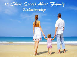 15 quotes about family relationship
