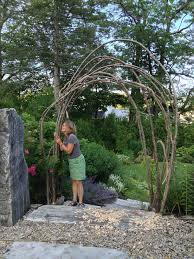 how to build a rustic trellis ellen ecker ogden