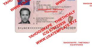 irish drivers licence template eliolera com