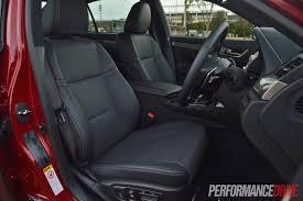 lexus gsf seats 2013 lexus gs 350 f sport review video performancedrive