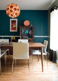 ideas mid century modern dining room design with white parson