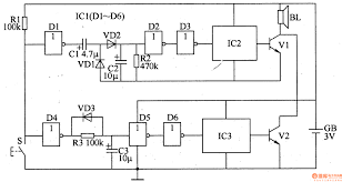 component circuit diagram of burglar alarm vegetables and fruit