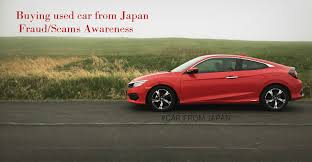 lexus for sale from japan buying used car fraud scams awareness car from japan