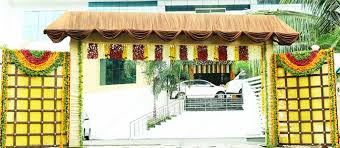 arch decoration venu s wedding arch decorations arrangements kerala india