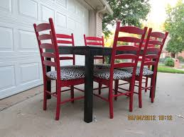 Best For The Home Images On Pinterest Distressed Furniture - Red kitchen table and chairs