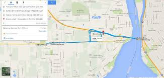 Google Maps Driving Directions Usa by Buffalo U0026 Fort Erie Usa Canada Border Crossing To Blue Star