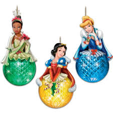 disney princess sparkling dreams ornament set by the