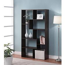 Bookcases Com Mainstays Home 8 Shelf Bookcase Multiple Finishes Walmart Com