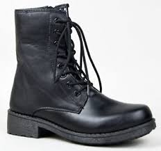 s qupid boots s qupid missile 04 low height lace up combat boot bootie ebay