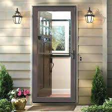 Screen For Patio Door Exterior Screen Doors Home Depot Jbindustries Co