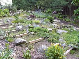 Rock Backyard Landscaping Ideas by Triyae Com U003d Pictures Of Backyard Rock Gardens Various Design