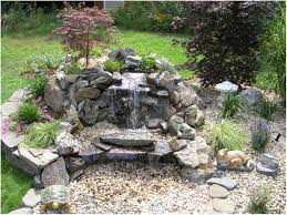 Backyard Waterfalls Ideas Garden Waterfalls For Sale Home Outdoor Decoration