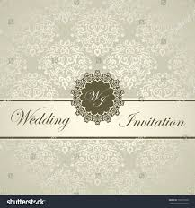 royal wedding cards royal wedding card seamless damask stock vector 132519128