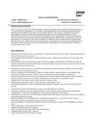 Best Consulting Resume by Sap Fico Sample Resume Cover Letter