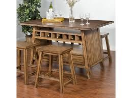 sunny designs cornerstone table with storage base center island