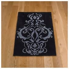 Damask Rugs Buy Tesco Rugs Damask Rug 120x170cm Black From Our Rugs Range Tesco