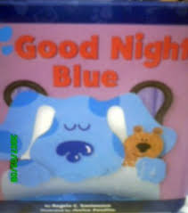 clues goodnight blue book angela santomero