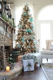 Blue Christmas Trees Decorating Ideas - 30 brilliant coastal chic christmas tree decorating ideas