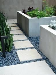 garden design using gravel modern garden design with stone paving