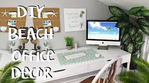 Beach Decor Pinterest by Diy Beach Decor Office Makeover Pinterest Inspired Youtube