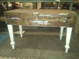 vintage metal tool box coffee table u2022 recyclart