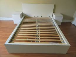 malm bed ikea malm bed frame white queen size in lake view cook county