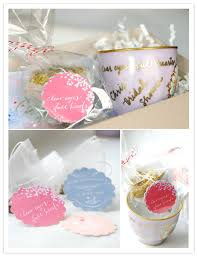 bridal shower favors diy layer cake in beautiful design decor sweet tags color with a cup