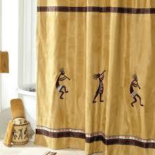 Kokopelli Home Decor by Kokopelli Fabric Shower Curtain