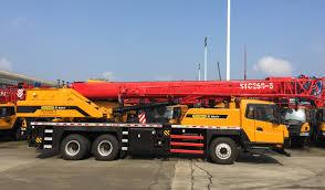25 tons palfinger sany mobile crane stc250 for russia belarus