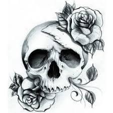 feminine skull tattoos search ideas