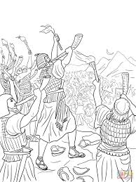 judge gideon coloring pages free coloring pages