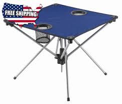 compact folding beach table portable fold up cing table picnic outdoor patio beach compact