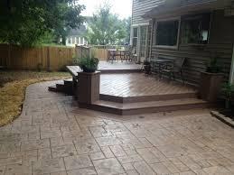 backyard concrete patio ideas 25 best ideas about small backyard