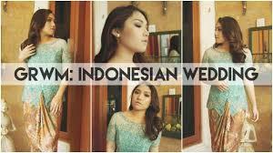 grwm indonesian wedding