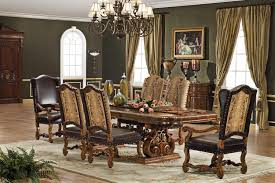 versailles double pedestal table dining room set by orleans