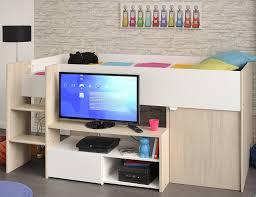 Kleiner Schreibtisch Mit Viel Stauraum Moderne Hochbetten Optimal Für Kleine Kinderzimmer