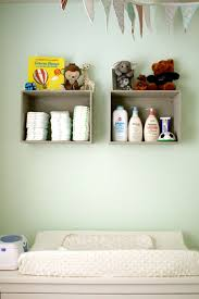 Changing Table Shelf 15 Smart Storage Ideas For Every Nursery Shelterness
