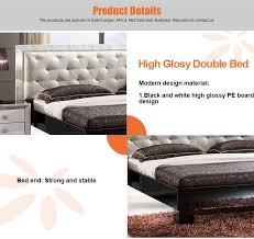 wooden meubles space saving wooden bed pictures bedroom set high glossy dubai