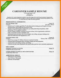 8 caregiver resume samples affidavit letter