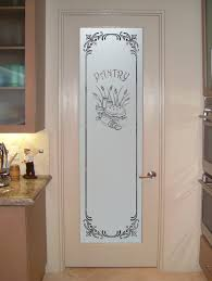 removing the frosted glass interior doors