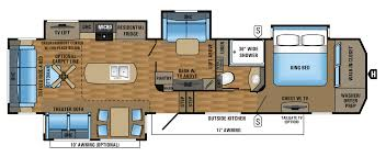 2017 luxury fifth wheel floorplans u0026 prices jayco inc