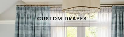 Customized Curtains And Drapes Calico Custom Drapes