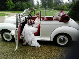 wedding hire classic car wedding hire morris minor ford mustang in regarding