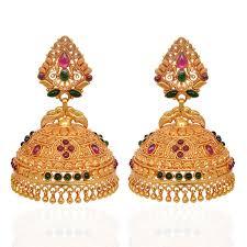kerala earrings jhumki earrings beautiful annapakshi silver jimmiki grt