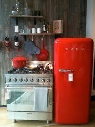 Small Red Kitchen Appliances - small retro refrigerator foter