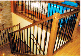 Indoor Banister Metal Railing Wooden With Bars Indoor Escaleras Yuste